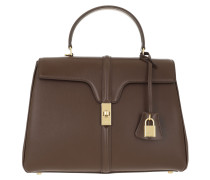 Satchel Bag Medium 16 Leather Brown