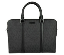 Handtasche - Jet Set Men Double Zipper Briefcase MD Black