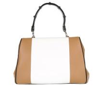 Tasche - Frame Bag Calf Baiadera Bianco/Caramel