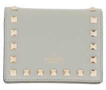 Portemonnaie Small Continental Wallet Leather Opal Grey