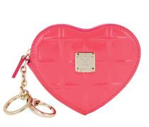 Portemonnaie Diamond Patent Heat Coin Wallet Tea Berry