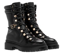 Boots Mountain Boot Lamb Leather Black