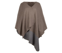 Schal - Scarf Cape Taupe/Grey