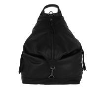 IgaS7 Small Backpack Nairobi Black Rucksack schwarz