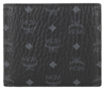 Portemonnaie Vi Or M-F12-1 Small Wallet, Coin Pkt Black