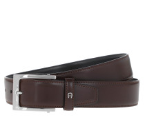 Gürtel Business Leather Belt Ebony