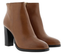 Viola Ankle Boot III Soft Leather Cognac