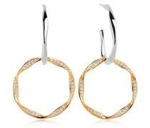 Ohrringe Cetara Due Earrings Gold