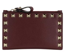Portemonnaie Rockstud Wallet Leather Cerise