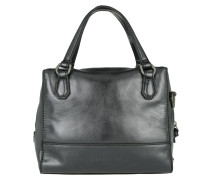 Detroit Satchel Bag Rock Grey Metallic