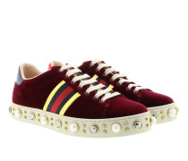 Sneakers New Ace With Pearls Bordeaux Sneakers