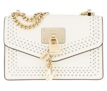 Umhängetasche Elissa Shoulder Bag White/Gold