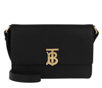 Umhängetasche Monogramme TB Crossbody Bag Small Leather Black