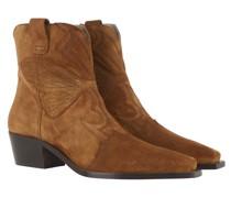 Boots & Stiefeletten Block Heel Suede Ankle