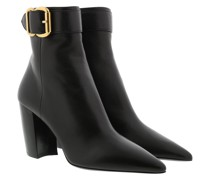 Boots Ankle Leather Black