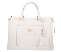 Tasche - Shopping Bag Vitello Daino Talco
