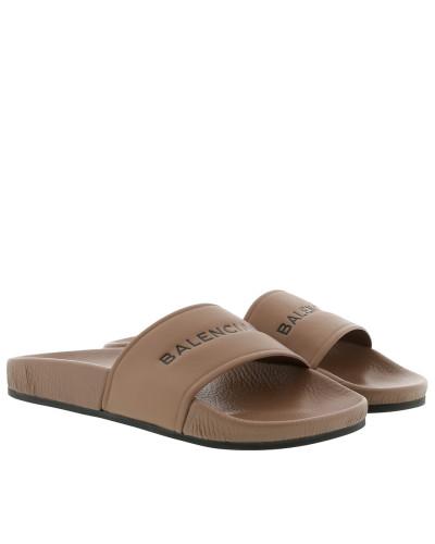 Schuhe Pool Slide Sandals Beige braun