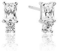 Ohrringe Antella Piccolo Earrings White Zirconia 925 Sterling Silver