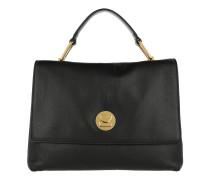 Liya Satchel Bag Noir/Noir