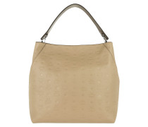 Klara Monogrammed Hobo Bag Large