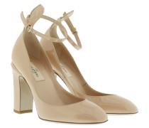 Valentino Pumps - Ankle Strap Heels Skin Sore - in beige - Pumps für Damen