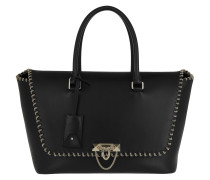 Demilune Satchel Bag Black
