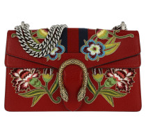 Dionysus Small Shoulder Bag Hibiscus Red rot