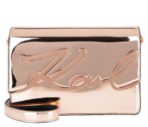 K/Signature Gloss Shoulderbag Rose Gold