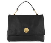 Liya Handle Bag 2 Noir Satchel