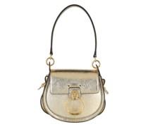 Umhängetasche Tess Shoulder Bag Small Leather Gold