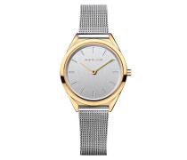 Uhr Watch Ultra Slim Women Silber