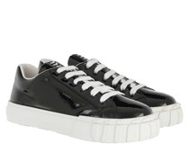 Sneakers Low Top Leather Nero/Bianco