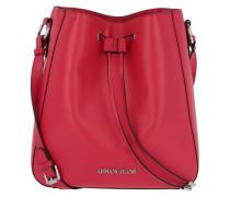 Eco Synthetic Bucket Bag Gerranio Beuteltasche
