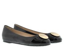 Ballerinas - Anthea Ballerina Patent Black