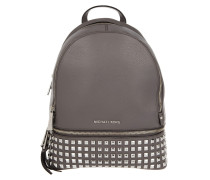 Rhea Zip MD Studded Backpack Cinder Rucksack braun