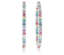 Ohrringe Bovalino Earrings Multicoloured Zirconia 925 Sterling Silver