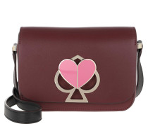 Umhängetasche Nicola Twistlock Small Shoulder Bag Cherrywood Multi