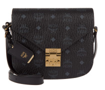 Patricia Visetos Shoulder Bag Small Black Umhängetasche
