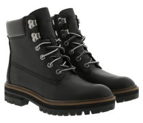 Boots London Square Boot Jet Black