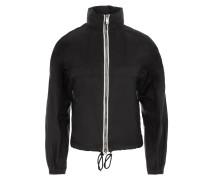 K-Way Nylon Piuma Jacket Nero + Bianco Mantel
