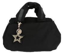 Joy Rider Nylon Handle Bag Black Tote