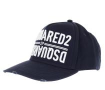 Caps Embroidered Logo Baseball Cap Navy
