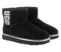 Boots W Classic Mini Rubber Logo Black Metallic