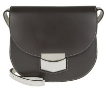 Tasche - Small Trotteur Bicolour Crossbody Anthracite / Pale Grey - in weiß, grau