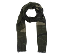 Panther Modal Scarf Army Green Schal braun