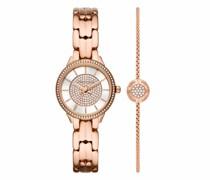 Uhr Women's Allie Three-Hand Stainless Steel Watch MK1