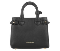 Tasche - House Check Derby Leather Baby Banner Tote Black