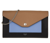 Tasche - Large Flap On Chain Clutch Light Camel