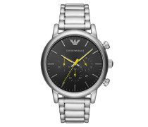 Uhr Men Chrono Watch Silver