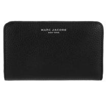 Gotham Compact Wallet Black Portemonnaie